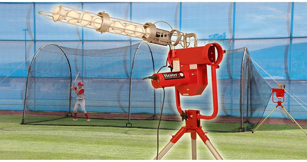 Heater Sports Pro Breaking Ball Baseball Pitching Machine