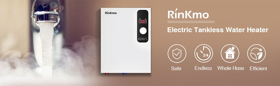 Rinkmo Electric Tankless Water Heater