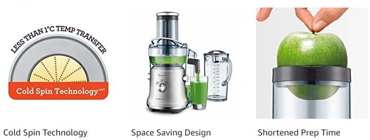 Breville BJE530BSS Juice Fountain Cold Plus Centrifugal Juicer 1