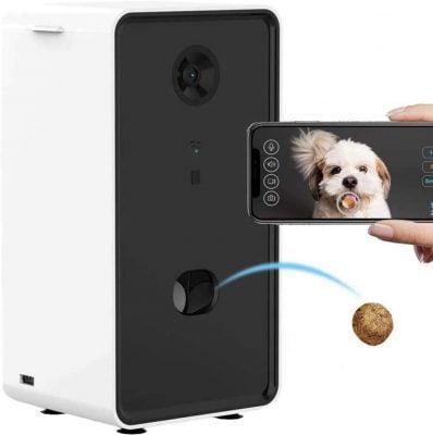 LAOZZI Smart Pet Camera Treat Dispenser