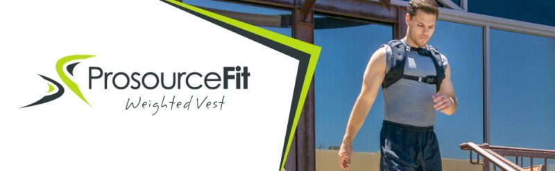ProsourceFit Exercise Weighted Fitness Training Vest 1