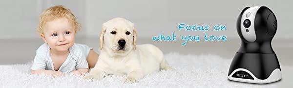 WiFi Pet Camera IMILLET Dog Pet Camera Treat Dispenser