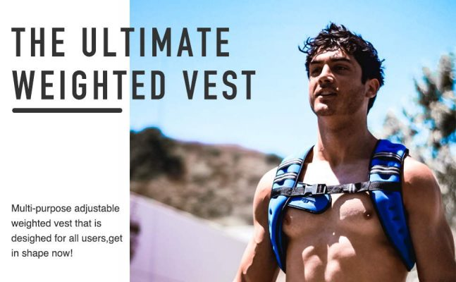 ZELUS Weighted Fitness Training Vest