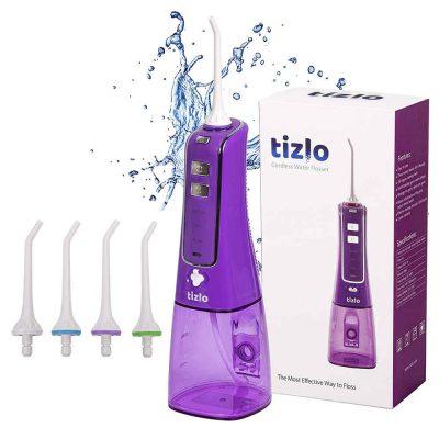 tizlo cordless water flosser