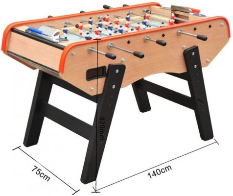 CJVJKN Classic Foosball Table