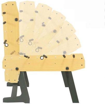 Foosball Foldable Tabletop Table 4