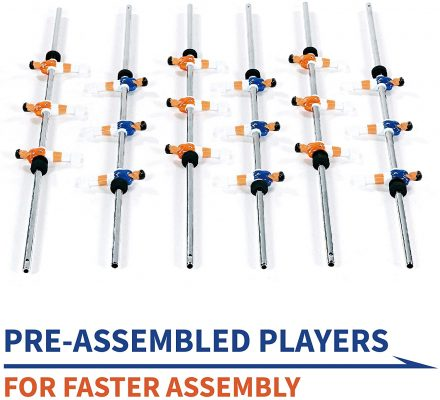 Rally and Roar Foosball Tabletop Games and Accessories 2