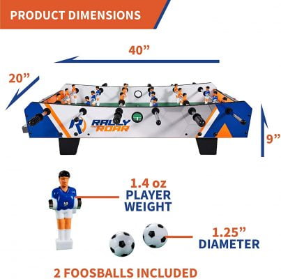 Rally and Roar Foosball Tabletop Games and Accessories 5