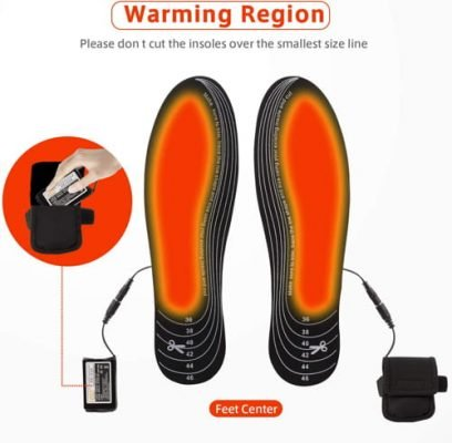 Rechargeable Insoles Foot Warmers