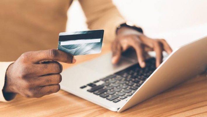 Use credit card on the website