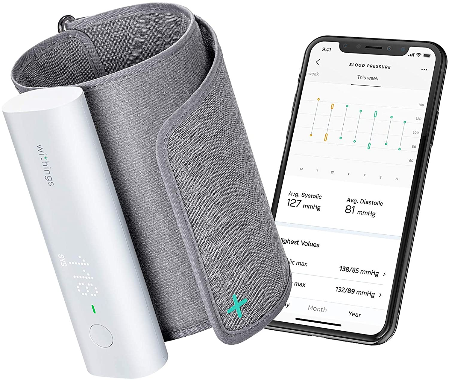 Withings Smart Blood Pressure Monitor Reviews