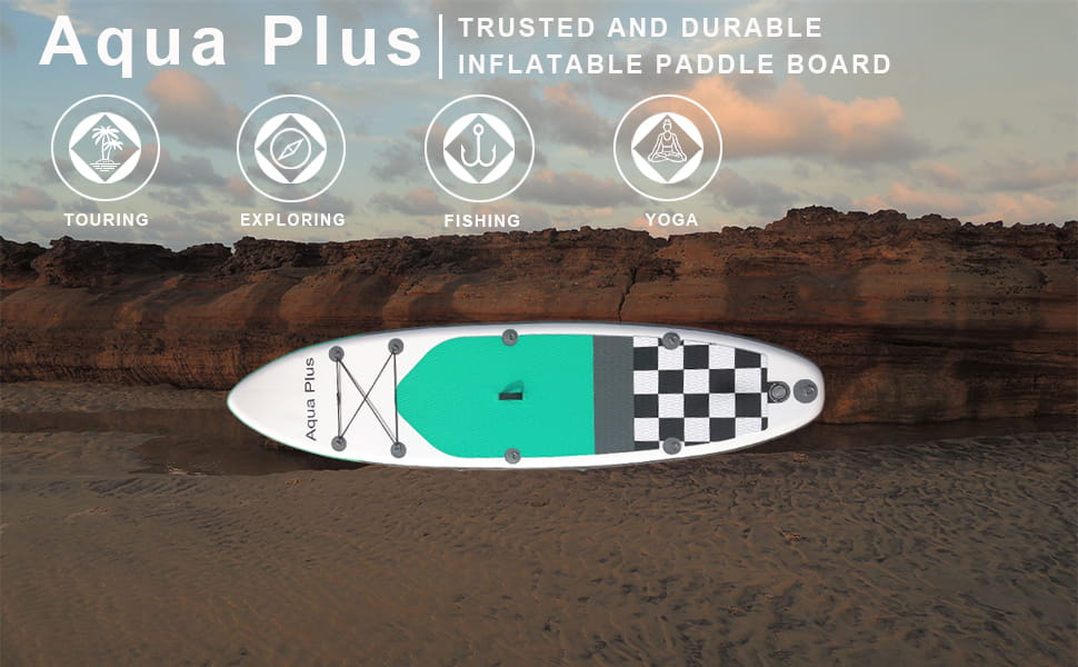 Aqua Plus Inflatable Paddle Boards