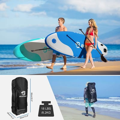Bessport Inflatable standing board paddle