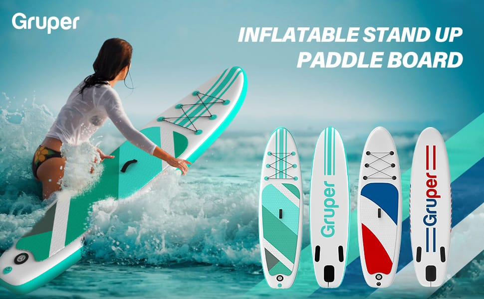 Grouper Standup Inflatable Paddleboard