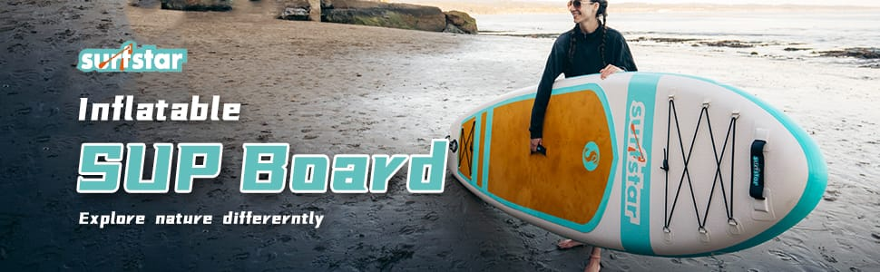 Surfster Inflatable Paddle Board