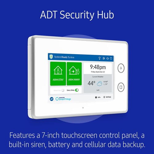ADT Security System.