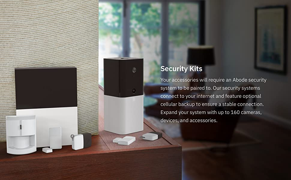 Abode Suitable Ring Home Security System.