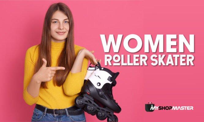 women roller skater min