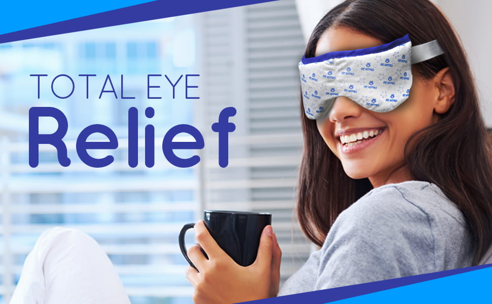 Eye Mask for Dry Eyes Moist Heat Microwave Activated