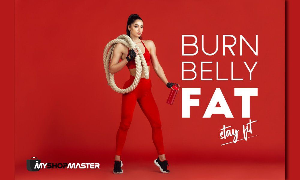 How to burn belly fat and stay fit min